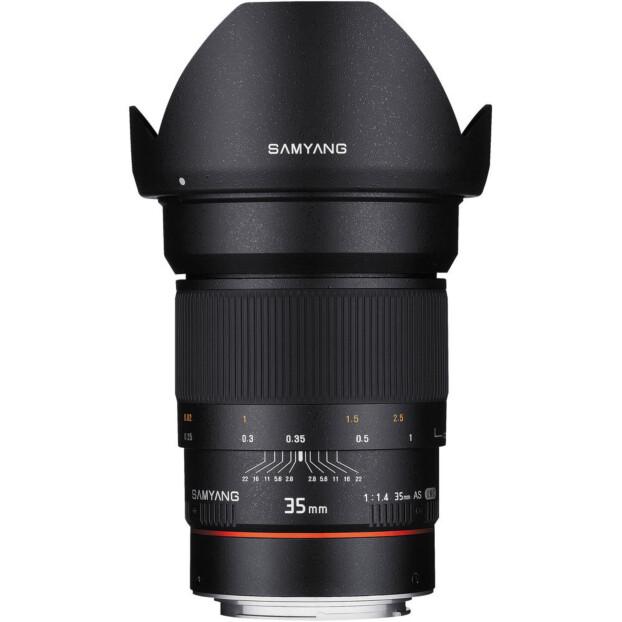 Samyang 35mm f/1.4 ED AS UMC AE | Canon EF