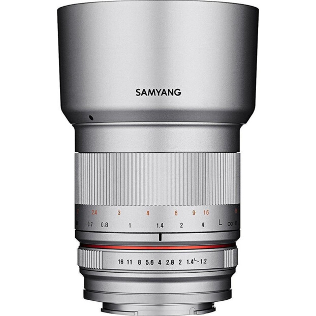 Samyang 50mm f/1.2 AS UMC CS zilver | Canon EF-M