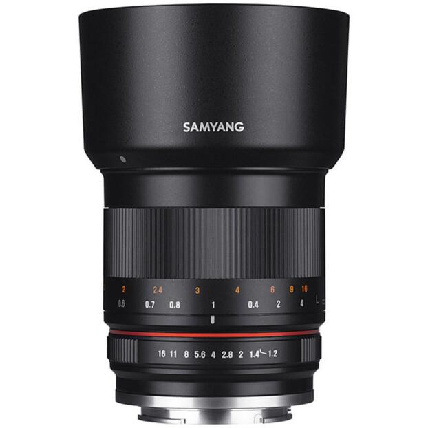 Samyang 50mm f/1.2 AS UMC CS zwart | Canon EF-M