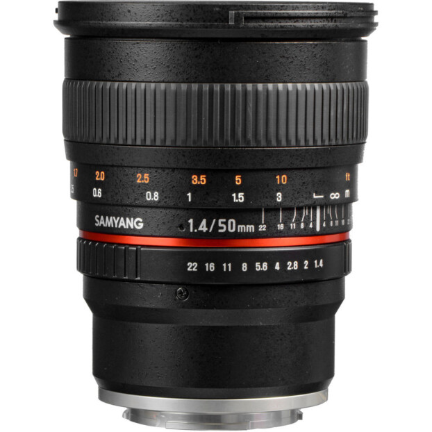 Samyang 50mm f/1.4 AS UMC | Canon EF-M