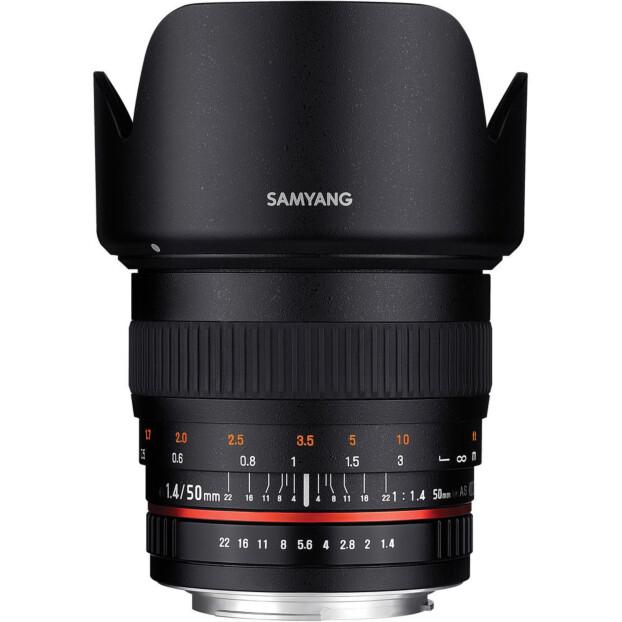 Samyang 50mm f/1.4 AS UMC | Nikon F (FX)