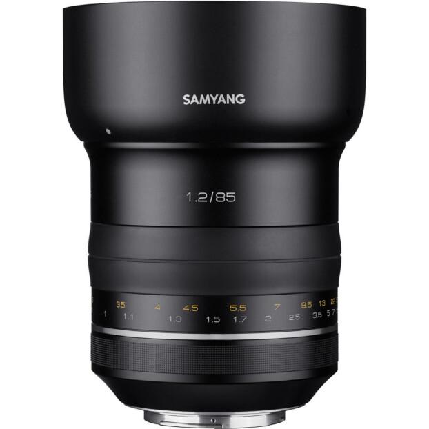Samyang 85mm f/1.2 XP | Canon EF