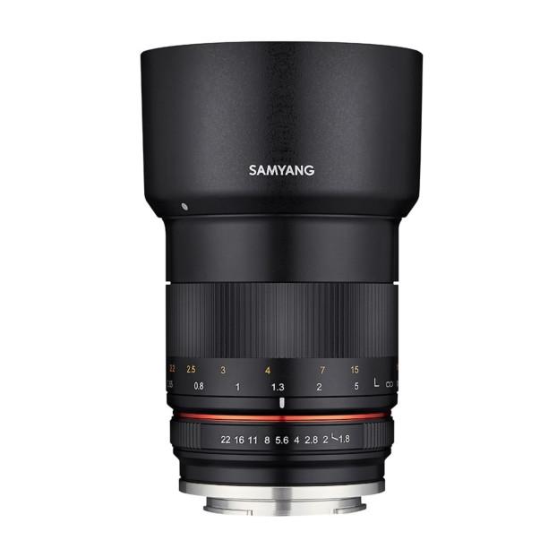 Samyang 85mm F1.8 ED UMC CS MFT