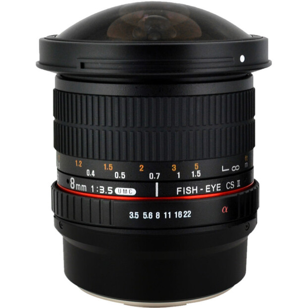 Samyang 8mm f/3.5 UMC CS II Fisheye | Canon EF-M