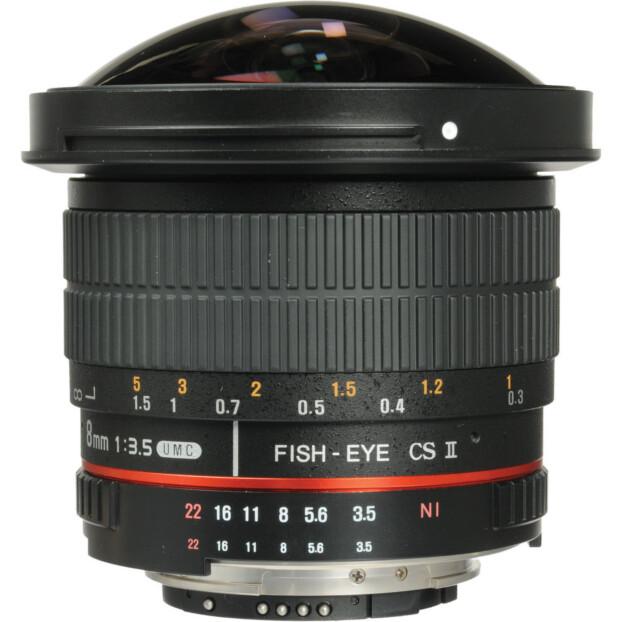 Samyang 8mm f/3.5 UMC CS II Fisheye | Canon EF-S