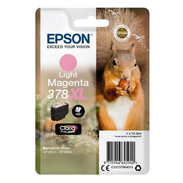 Epson 378 Claria Photo HD inktpatroon XL | Licht Magenta