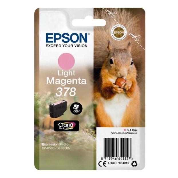 Epson 378 Claria Photo HD inktpatroon | Licht Magenta