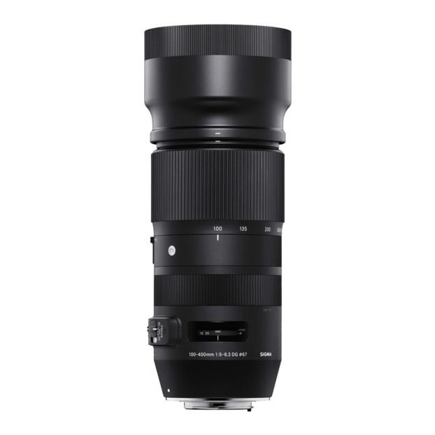 Sigma 100-400mm F5-6.3 DG OS HSM Contemporary-Canon