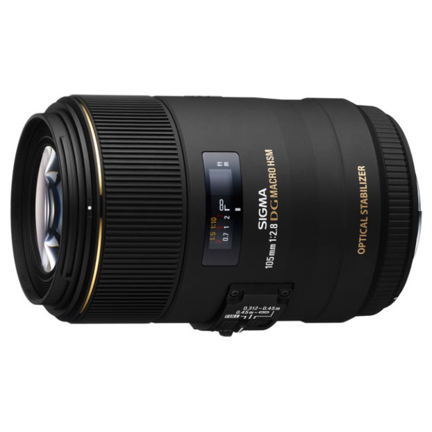Sigma 105mm f/2.8 EX DG OS HSM Macro | Nikon F (FX)