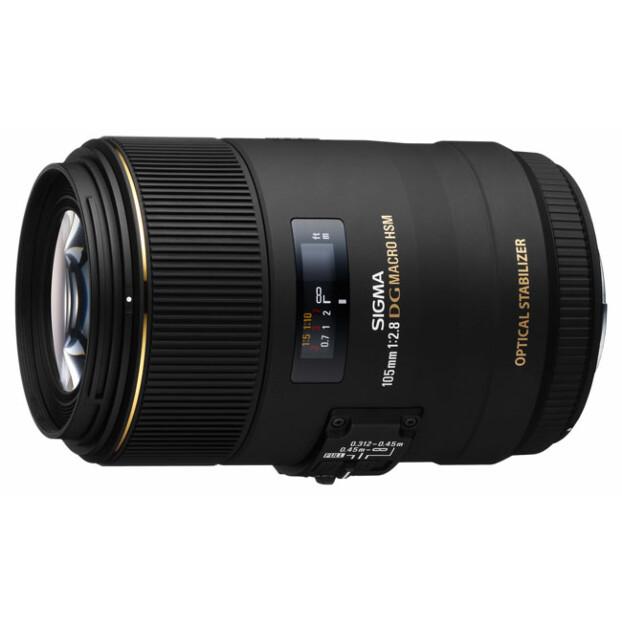 Sigma 105mm f/2.8 EX DG OS HSM Macro | Nikon F (FX) - Webshopretour