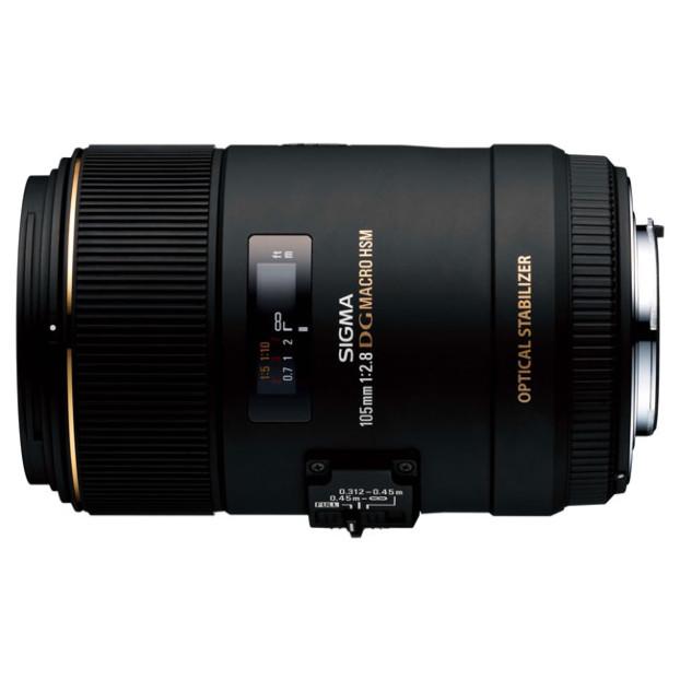 Sigma 105mm F2.8 EX DG MACRO OS HSM Canon