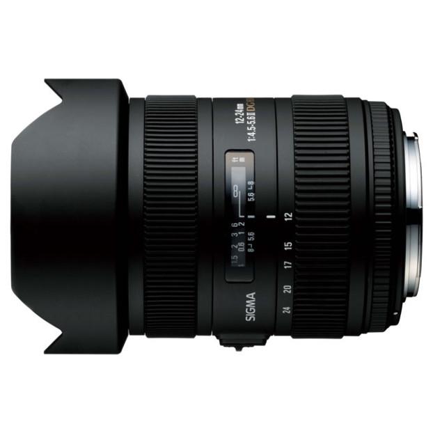 Sigma 12-24mm F4.5-5.6 EX DG II HSM Canon