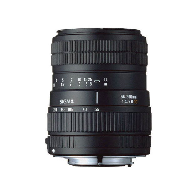 Sigma 55-200mm f/4.0-5.6 DC Sony A-mount