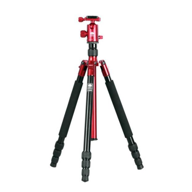Sirui UltraLight T-004X + C10S rood