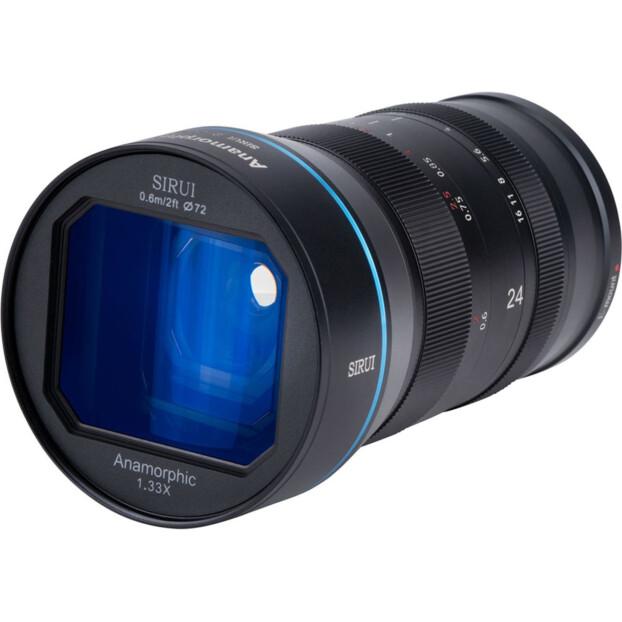 Sirui 24mm f/2.8 Anamorphic 1.33x   EF-M