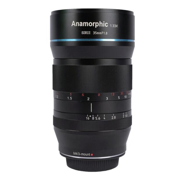 Sirui 35mm f/1.8 Anamorphic 1.33x | MFT
