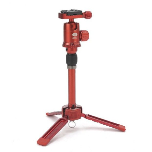Sirui TableTop 3T-35R statief (Red)