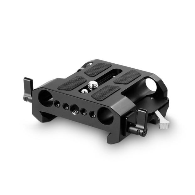 SmallRig 1642 Arri Standard Explorer Bridgeplate with 15mm Rod Clamp