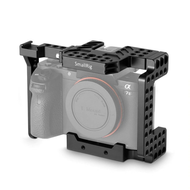 SmallRig 1660 Sony A7II/A7RII/A7SII ILCE 7M2/ILCE 7RM2/ILCE 7SM2 Cage