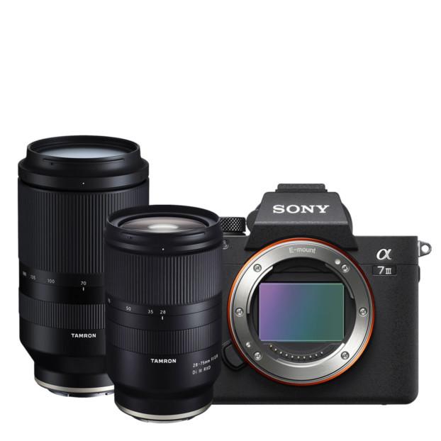 Sony A7 Mark III + Tamron 28-75mm f/2.8 + Tamron 70-180mm f/2.8