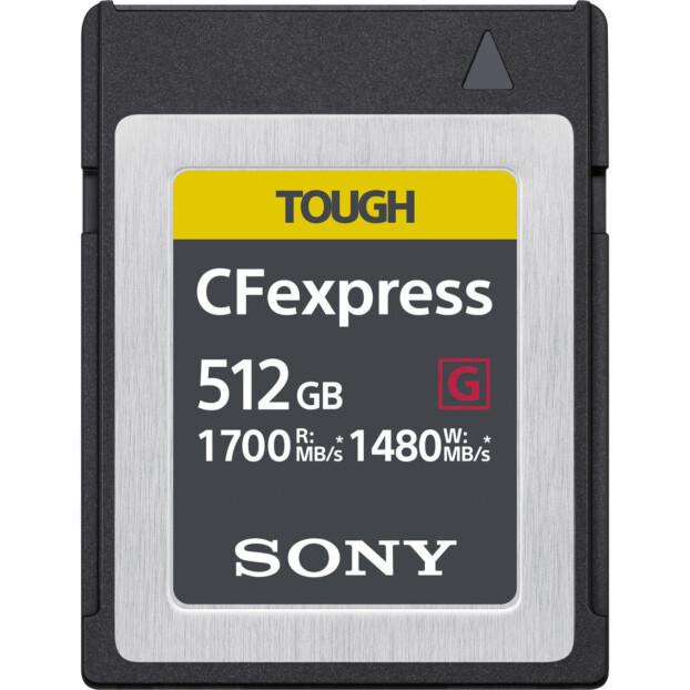 Sony CFexpress Type-B Tough 512GB 1700MB/s