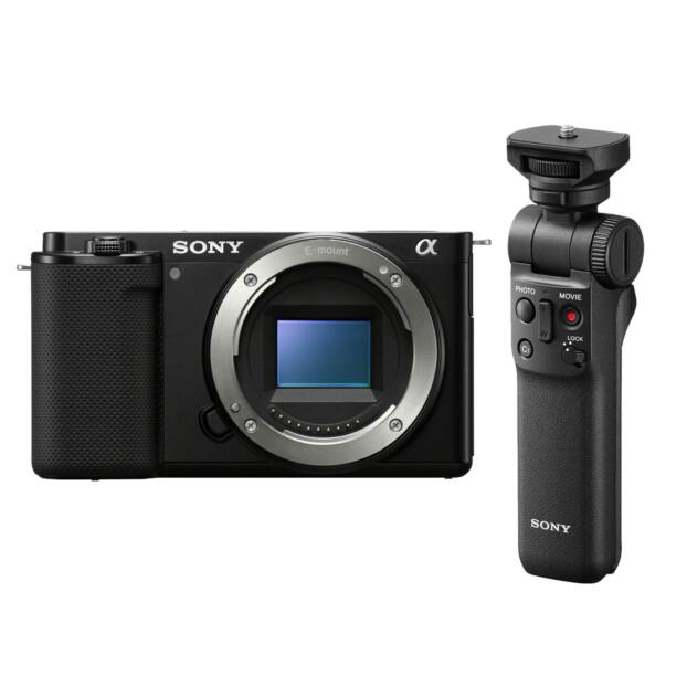Sony DSC ZV-E10 Vlogcamera + GP-VPT2BT grip