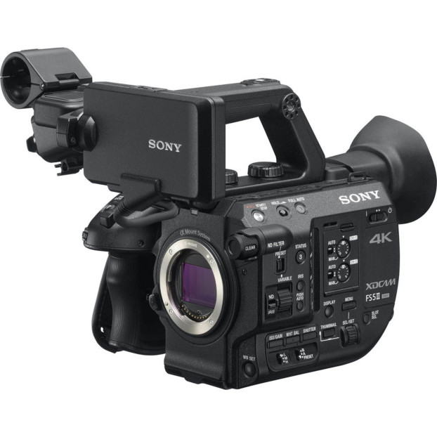 Sony PXW-FS5 II 4K Raw Body
