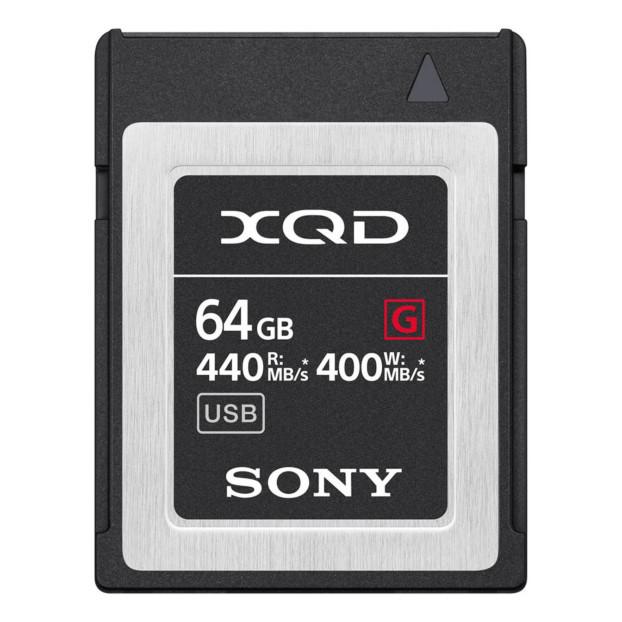 Sony XQD 64GB High Speed R440 W400