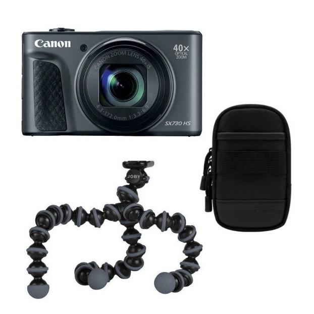 Canon PowerShot SX730 HS zwart Travel Kit