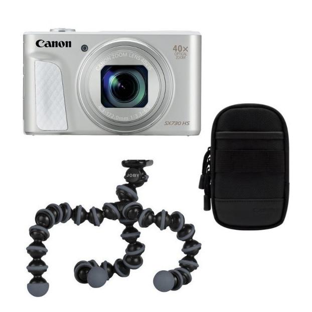 Canon PowerShot SX730 HS zilver Travel Kit