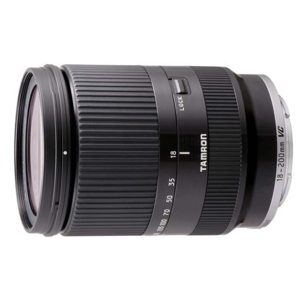 Tamron 18-200mm f/3.5-6.3 Di III VC zwart | Sony E