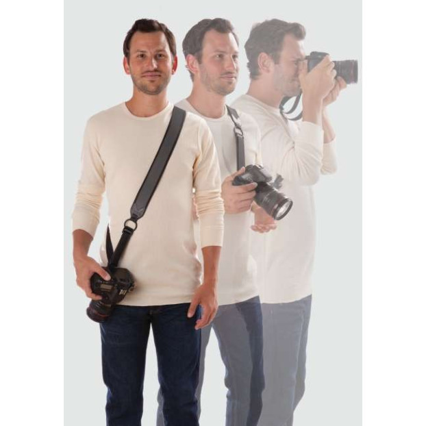Joby UltraFit Sling Strap for Men XXL Charcoal