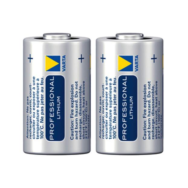 Varta Professional 123A Lithium batterij 3v 2-pak