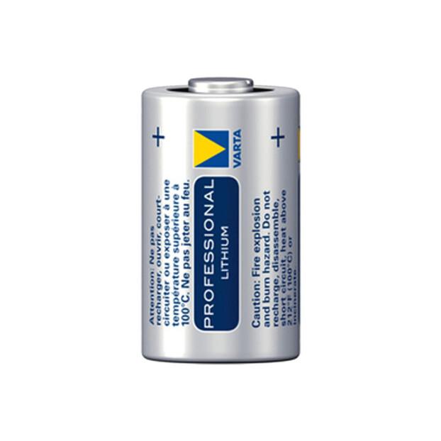 Varta Professional CR123A Lithium batterij 3v