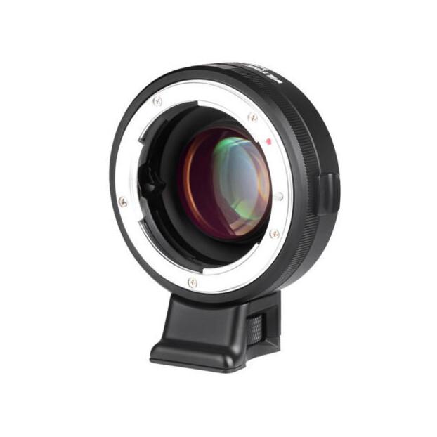 Viltrox NF E MF Adapter | Nikon F naar Sony E | 0.71x
