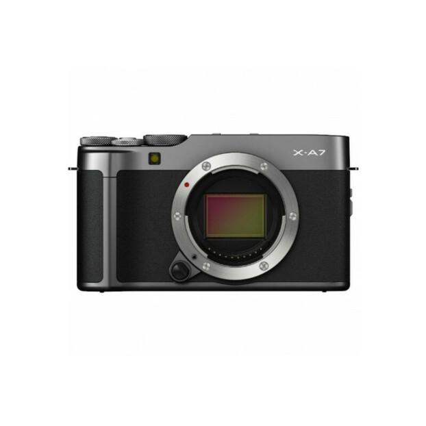 Fujifilm X-A7 Body donker zilver