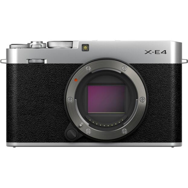 Fujifilm X-E4 body zilver