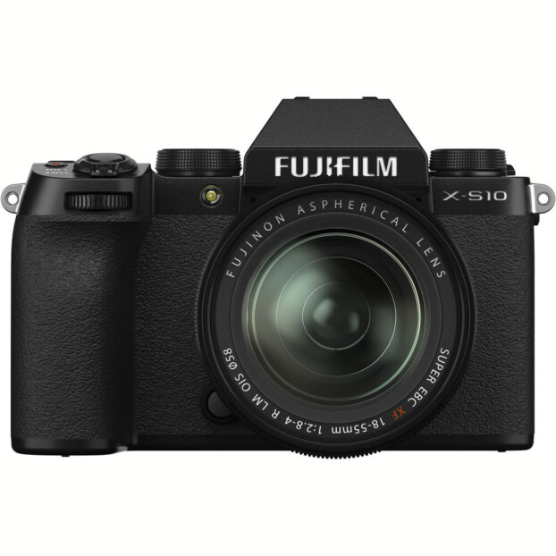 Fujifilm X-S10 zwart + 18-55mm f/2.8 - 4.0 R LM OIS