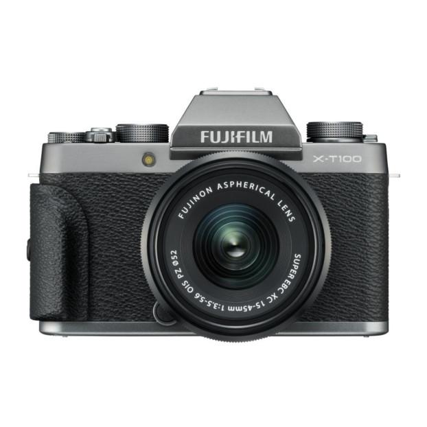 Fujifilm X-T100 dark silver + XC 15-45mm F3.5-5.6 OIS PZ