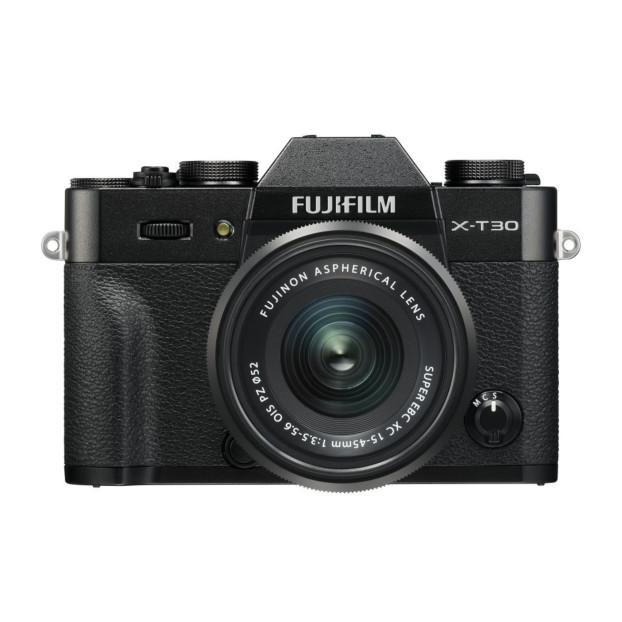 Fujifilm X-T30 zwart + XC15-45mm F3.5-5.6 OIS PZ