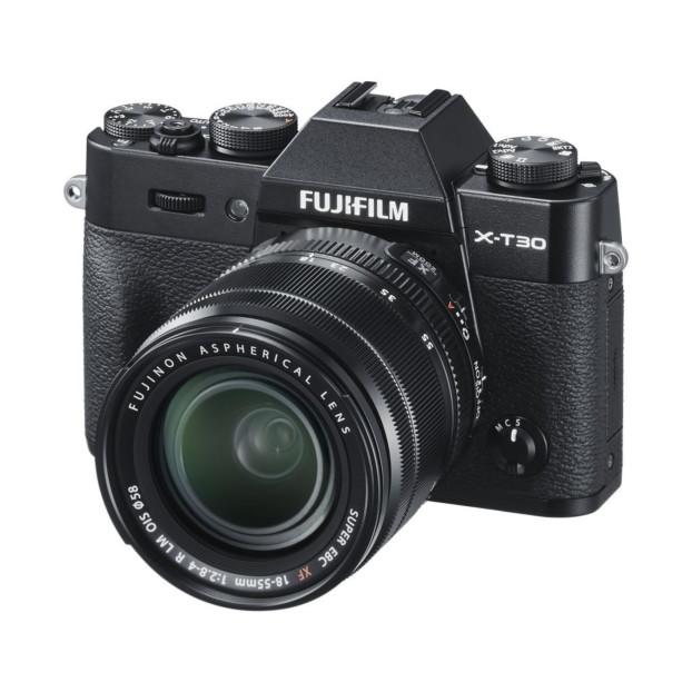 Fujifilm X-T30 zwart + XF18-55mm F2.8-4.0 R LM OIS