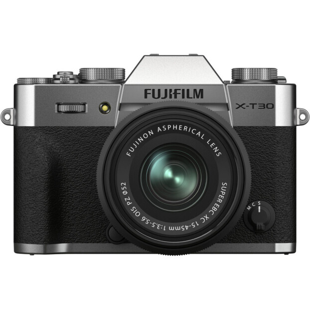 Fujifilm X-T30 II zilver + XC 15-45mm f/3.5-5.6 OIS PZ