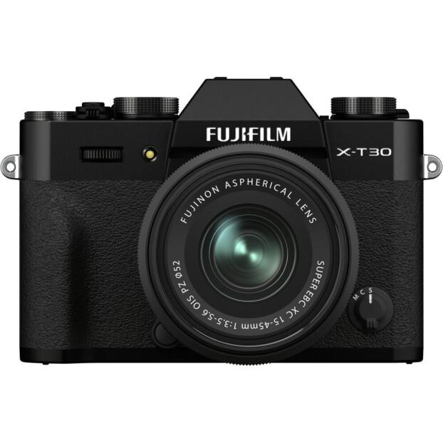 Fujifilm X-T30 II zwart + XC 15-45mm f/3.5-5.6 OIS PZ