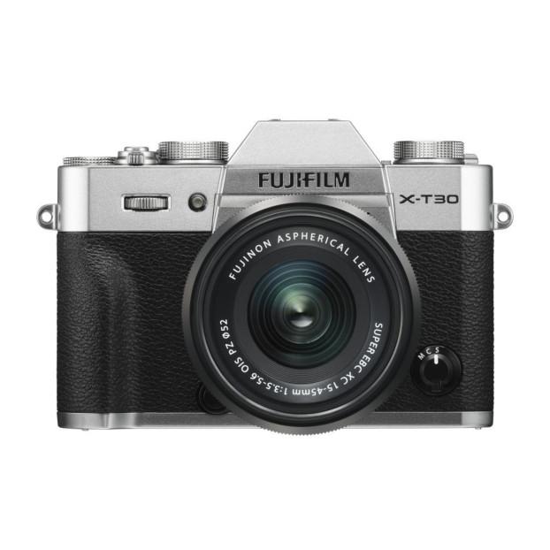 Fujifilm X-T30 zilver + XC15-45mm F3.5-5.6 OIS PZ