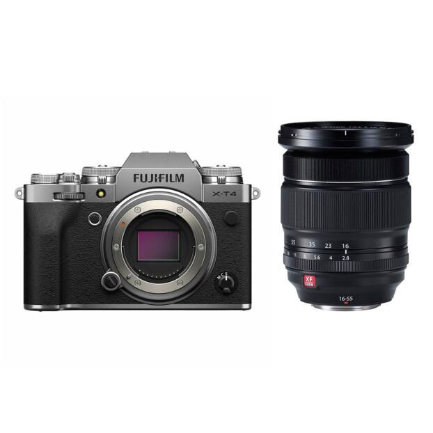 Fujifilm X-T4 zilver + 16-55mm f/2.8 R LM WR