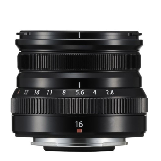 Fujifilm Fujinon XF 16mm f/2.8 R WR Zwart