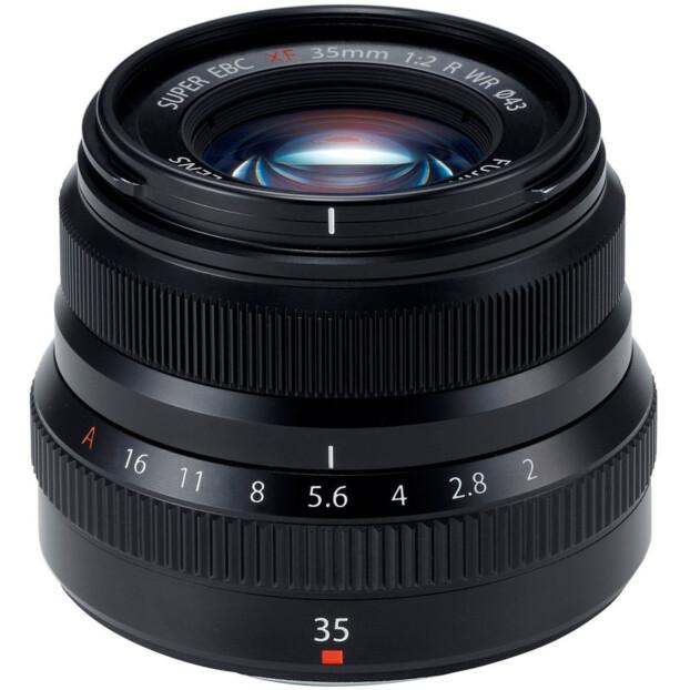 Fujifilm Fujinon XF 35mm f/2.0 R WR zwart