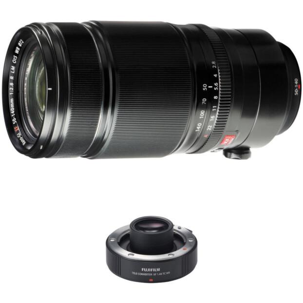 Fujifilm Fujinon XF 50-140mm f/2.8 R LM OIS WR + XF 1.4x TC WR