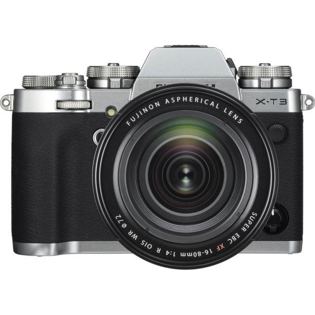 Fujifilm X-T3 zilver + 16-80mm f/4.0