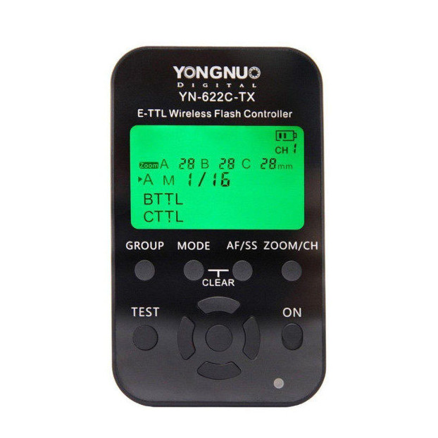 Yongnuo YN622C TX Wireless TTL Flash Trigger voor Canon